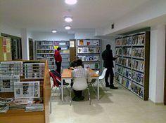"Biblioteca Municipal ""Juan Martín Sauras"" de Andorra: Interior"