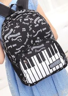 Piano keyboard rucksack
