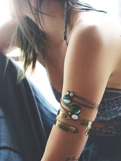 stone wrap armband #freepeople