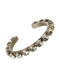 Riveting Romance Cuff Bracelet in Crystal Clear by Sorrelli - $95.00 (http://www.sorrelli.com/products/BCL23ASCCL)