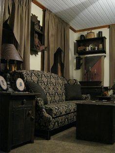 49 best primitive sofas images country furniture rustic furniture rh pinterest com
