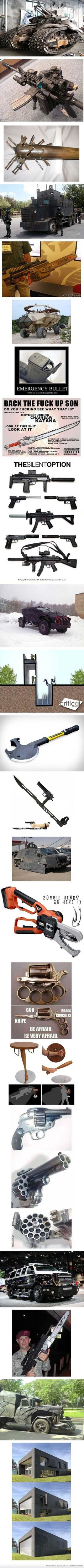 Everything You're Ever Going To Need For The Zombie Apocalypse