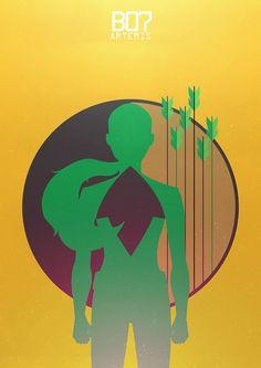 Young Justice Designation:B07 Artemis