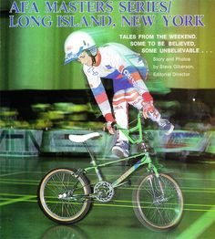 Dennis McCoy in the midst of fast, smooth combos at the AFA New York contest (1986)