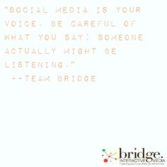 #brideinteractivemedia #socialmedia #marketing #branding #consulting #socialmediaquote