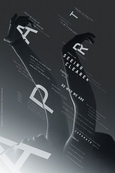 Designing With Black and White: 50 Striking Examples For Your Inspiration – Design School Dm Poster, Poster Layout, Typography Poster, Poster Fonts, Typography Layout, Graphic Design Posters, Graphic Design Typography, Graphic Design Inspiration, Typo Design