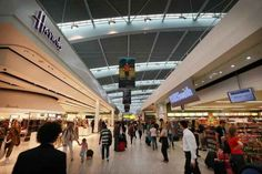 1. London Heathrow Airport (LHR) - 7 Best Airports in the World to be Stuck in...also try Singapore.