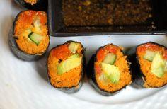carrot pulp sushi