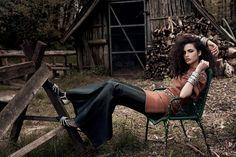 Cosa Nostra: conheça a modelo italiana mezzo brasileira Chiara Scelsi