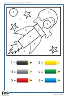 Colour by Numbers TEACCH Activities | Teaching Resources