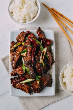 This Mongolian Beef Recipe is a crispy, flavorful homemade version that's less sweet than the gloopy restaurant Mongolian Beef you're probably used to.