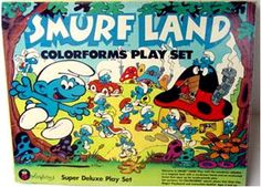 Colorforms!  These things were the stuff back in the day! I played with mine til they wouldn't stick anymore!