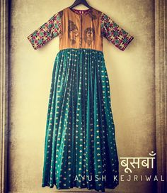 Gypsy Dress by Ayush Kejriwal For purchases email me at designerayushkejriwal@hotmail.com or what's app me on 00447840384707 We ship WORLDWIDE. Instagram - designerayushkejriwal