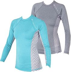 Performance fit long sleeve rash guard...