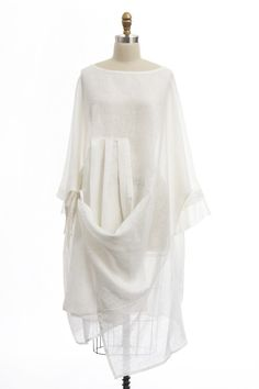 Kedem Sasson - White Linen Dress