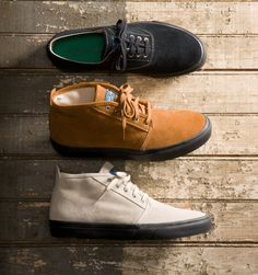 Collection capsule de chaussures de Sperry & YMC
