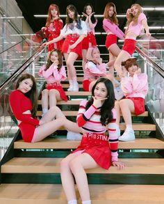 PRISTIN 프리스틴 group 'WeeWoo' debut era #프리스틴 #위우