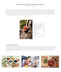 Układ graficzny dla wpisu kulinarnego został przygotowany z myślą o osobach, które zajmują się branżą gastronomiczną. Świetnie sprawdzi się jako szablon wpisu dla blogerów kulinarnych, pozwalając ustandaryzować wygląd postów, a także dla innych firm działających w na rynku gastronomicznym, które na swoich stronach wprowadziły sekcję blog. #elegantthemes #themes #website #cooking #layouts #businessonline