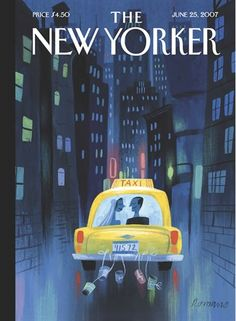 Illustration from Lou Romano for the New Yorker. Framed or frameless print available in 3 sizes. Discover more artists from The New Yorker : Sempé, Greg Foley, Malika Favre, Mark Ulriksen, Owen Smth… The New Yorker, New Yorker Covers, Capas New Yorker, Image Republic, A New York Minute, Cinema Tv, Nyc, Magazine Art, Magazine Covers