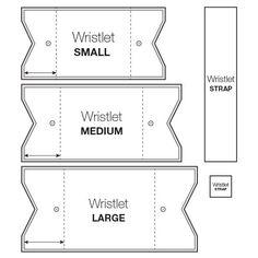 wristlet pattern thumb
