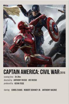 Marvel Civil War Movie, Civil War Movies, Marvel Movie Posters, Avengers Poster, Marvel Avengers Movies, Marvel Films, Captain America Movie, Captain America Civil War, Caption America