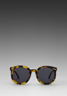 KAREN WALKER Super Duper Strength in Crazy Tort at Revolve Clothing - these might be them, the style is classic and suits my face shape