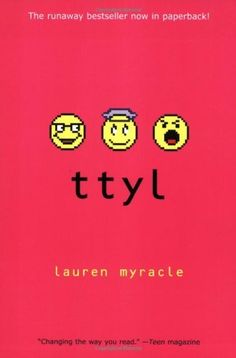Ttyl by Lauren Myracle, http://www.amazon.com/dp/0810987880/ref=cm_sw_r_pi_dp_69Bjqb06M0DJN