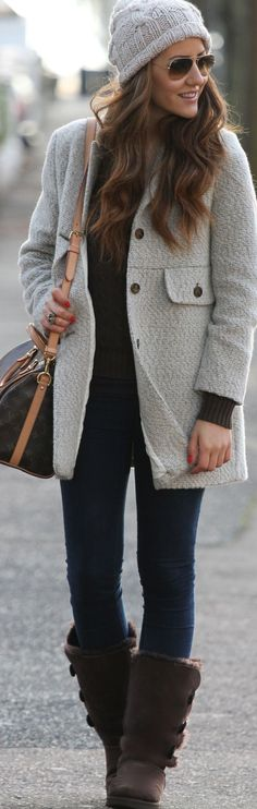Cozy and cute on a cold day