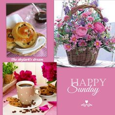 Sunday Morning Coffee, Good Morning Good Night, Morning Wish, Good Morning Quotes, Happy Sunday Pictures, Happy Sunday Quotes, Blessed Sunday, Greetings For The Day, Sunday Greetings