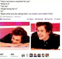 Basically my favorite Harry imagine ever >> and i dont usually like imagines