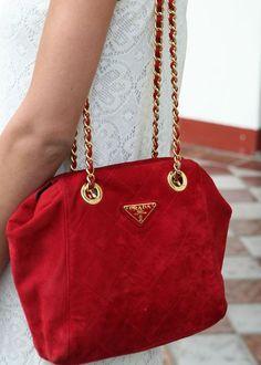3f24f9135729af red handbag,handbag,purse,red purse,designer handbag,handbags,fashion. Prada  ...