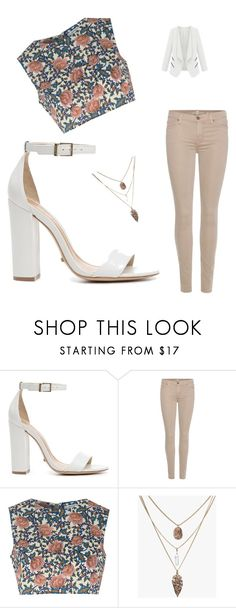 """like4like"" by dayhanatejeda ❤ liked on Polyvore featuring Schutz, 7 For All Mankind and Glamorous"