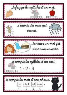 Affichettes Leçon déchiffrer GS