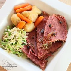 Need to try this one! Electric pressure cooker corned beef and veggies.