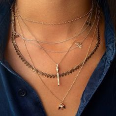 Layers Of Love @jamesbanksdesign @karmaelkhaliljewelry #Layer #JamesBanks #KarmaElKhalil #ROSEARK