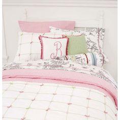 Gingham Check Pink Duvet Cover