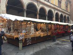 Feirinha de Natal em Verona.