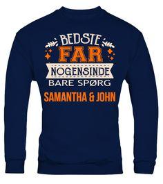 BEDSTE FAR NOGENSINDE BARE SPORG BENJAMIN & OLIVIA T-SHIRT - T-shirt