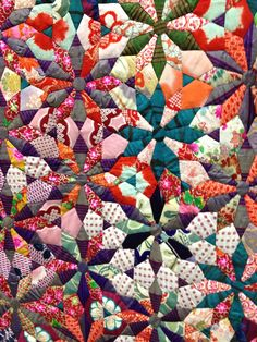 Asian Quilts | of the above quilt made of kimono fabrics an vendor s antique quilt ...