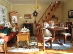 My doll house -  Living Room - Mi casita de muñecas - El salon