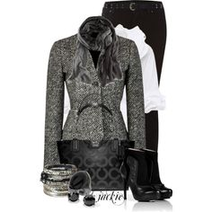 Classy Fashion Outfits 2012 - Tweed and Coach