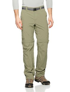 Columbia Men's Silver Ridge Convertible Pants, Cypress, 38 x Omni-Shield advanced repellency Omni-Shade UPF 50 sun protection Vented for comfort Outdoor Pants, Outdoor Outfit, Outdoor Gear, Fishing Boots, Outdoor Apparel, Mens Gloves, S Man, Silver Man, Men S Shoes
