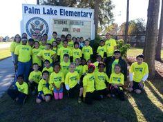 Palm Lake Elementary Bobcats Running Club 2013-2014 school year