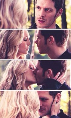 "The Vampire Diaries, 5x11, ""500 Years of Solitude,"" aired 23 January 2014. Caroline Forbes is played by Candice (Accola) King and Niklaus ""Klaus"" Mikaelson, a vampire-werewolf hybrid, is played by Joseph Morgan. Caroline: ""No, you don't because, yes, I cover our connection with hostility because, yes, I hate myself for the truth. So, if you promise to walk away -- like you said -- and never come back then, yes, I will be honest with you. I will be honest with you -- about what I want."""