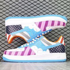 hot sales 2b5ee 2154f Nike Signs, Custom Air Force 1, Nike Af1, Portland Trailblazers, Nike Air