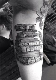 16 Enthralling Book Tattoos For Readers