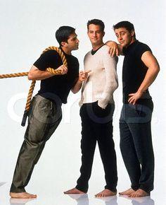 Friends Series: Ross,Chandler & Joey