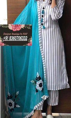 Punjabi Suits Designer Neck Design _ Designer Neck Design For Suits Simple Kurti Designs, Stylish Dress Designs, Kurta Designs Women, Salwar Kameez Neck Designs, Kurta Neck Design, Neck Designs For Suits, Dress Neck Designs, Indian Designer Suits, Designer Party Wear Dresses