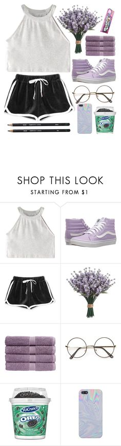 """""""~ and when your father turns to stone will you take care of me ~"""" by illumxnate ❤ liked on Polyvore featuring WithChic, Vans and Christy"""