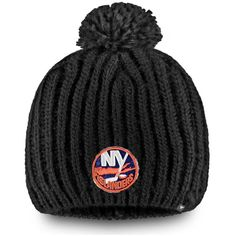 huge selection of 2a791 2c110 Women s New York Islanders Fanatics Branded Black Iconic Knit Beanie with  Pom, Your Price   21.99